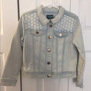 Little Girls Denim Jacket size 5T